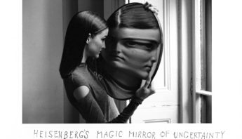 Duane Michals heisenberg's magic mirror of uncertainty 1998 shot for French Vogue